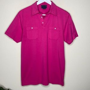 G/Fore Pink Golf Polo